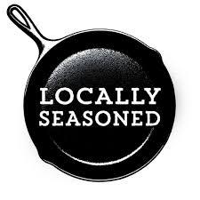 locally seasoned