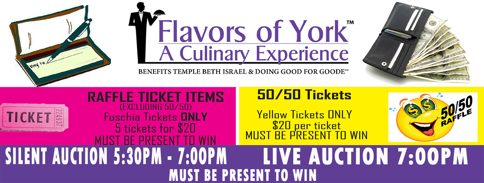 Flavors of York Auction